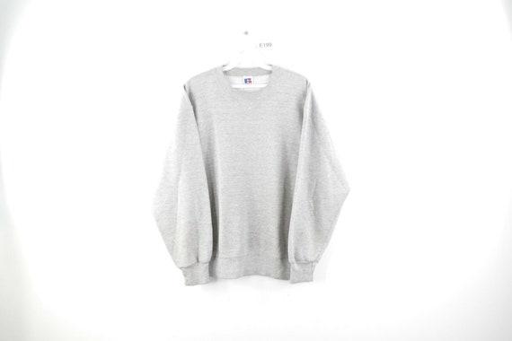 90s Russell Athletic Distressed Blank Sweatshirt H
