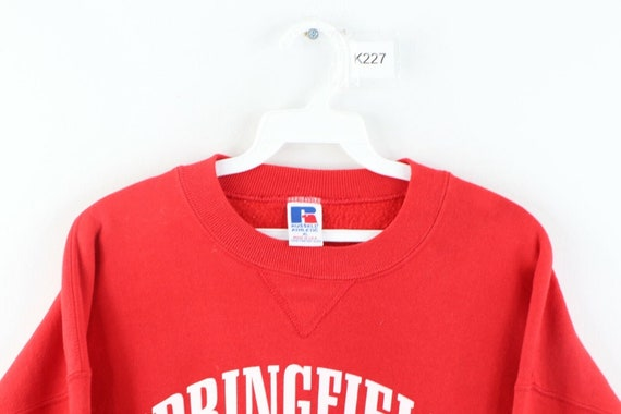 90s Russell Athletic Mens XL Springfield Baseball… - image 2