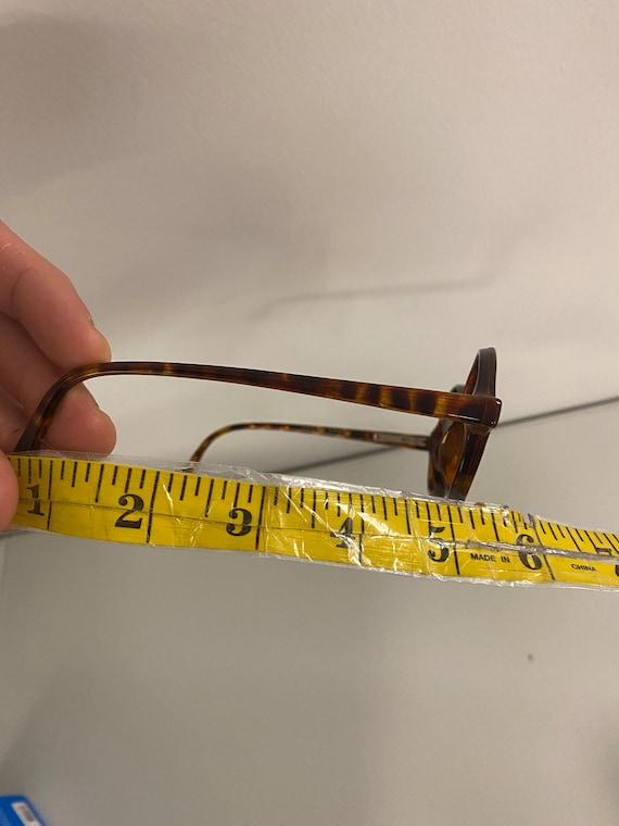 90s NOS Deadstock Acetatate Oval Sunglasses Torti… - image 6