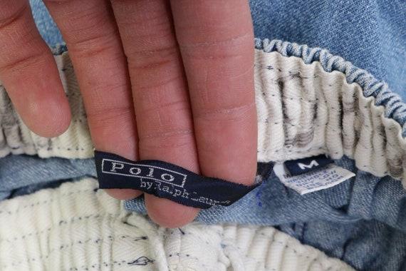 80s Ralph Lauren Mens Medium Elastic Waist Tapere… - image 6