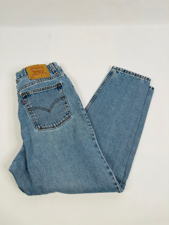 90s Levis 512 Slim Fit Tapered Leg Jeans Womens 1… - image 7