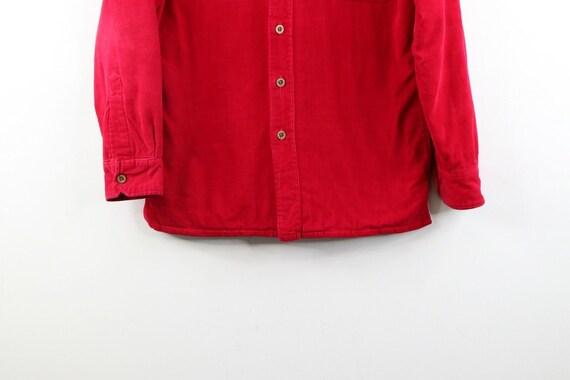 90s Streetwear Mens Small Double Pocket Micro Cor… - image 8