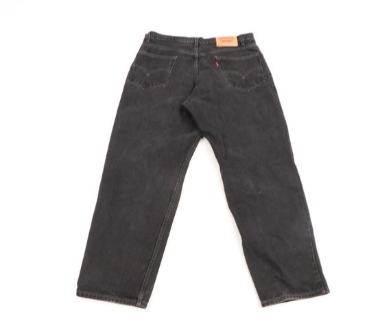 Vintage 90s Levis 550 Relaxed Fit Distressed Fade… - image 7