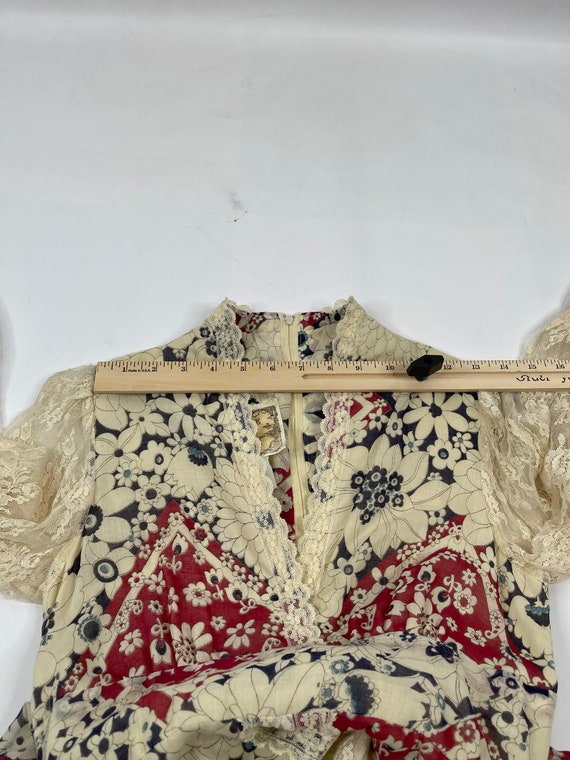 70s Gunne Sax Jessica McClintok Womens 2 Floral L… - image 9