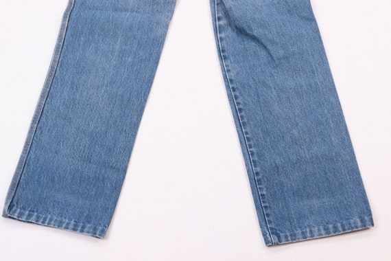 80s Calvin Klein Womens 9 Distressed Faded Straig… - image 10