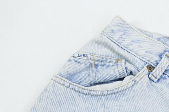 80s Lee Riders Womens 13 Petite Tapered Leg High … - image 5