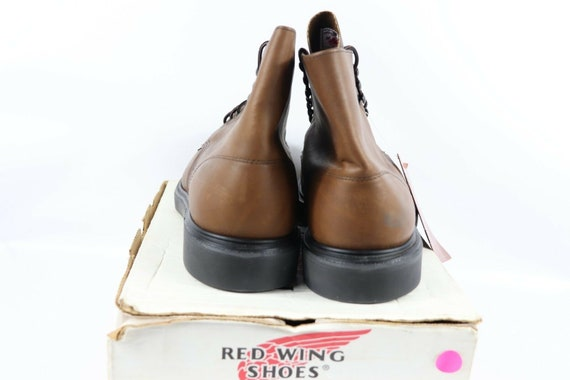 NOS Vtg 90s Red Wing Shoes Mens 13 E Oil Tanned L… - image 6