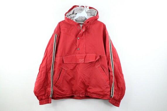 90s Gap Streetwear Mens Medium Boxy Fit Lined Hood