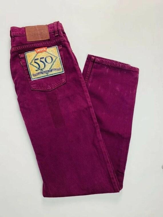 Deadstock Vintage Levis 550 Tapered Leg Mens 31 x