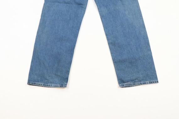 Vintage 90s Levis Wide Leg Baggy Fit Distressed D… - image 7