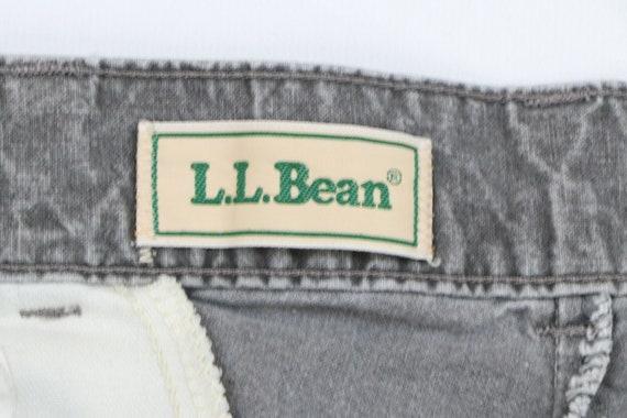 80s LL Bean Mens 31x29 Straight Leg Faded Distres… - image 5