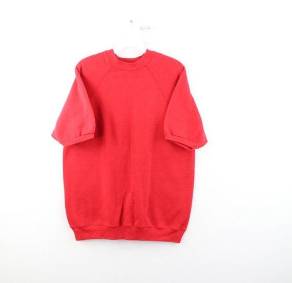 90s Streetwear Mens Large Faded Blank Short Sleeve