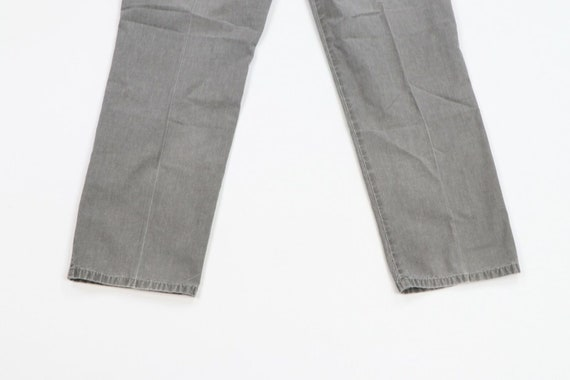 80s LL Bean Mens 31x29 Straight Leg Faded Distres… - image 8