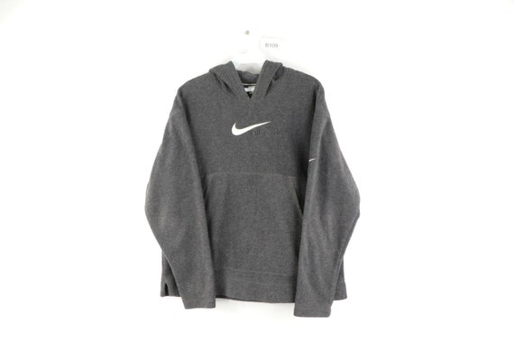 90s Nike Mens Small Stitched Spell Out Swoosh Flee