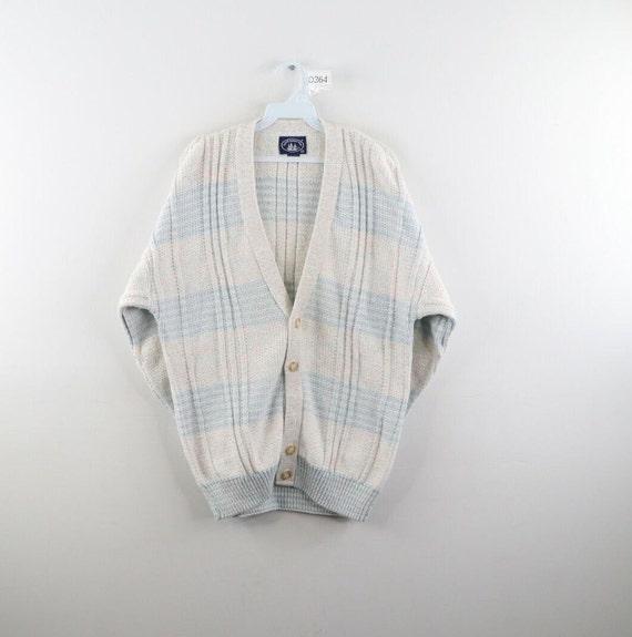 80s Streetwear Mens XL Thick Knit Long Sleeve Card