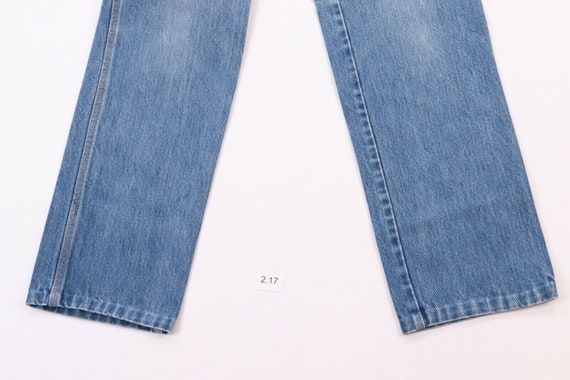80s Calvin Klein Womens 9 Distressed Faded Straig… - image 3
