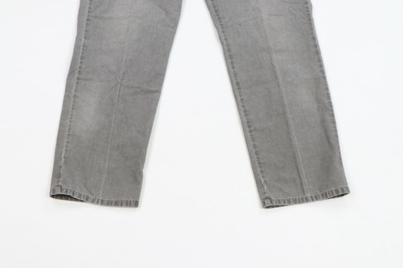 80s LL Bean Mens 31x29 Straight Leg Faded Distres… - image 3