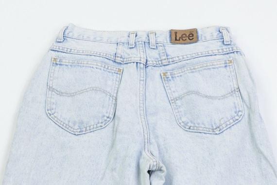 80s Lee Riders Womens 13 Petite Tapered Leg High … - image 7