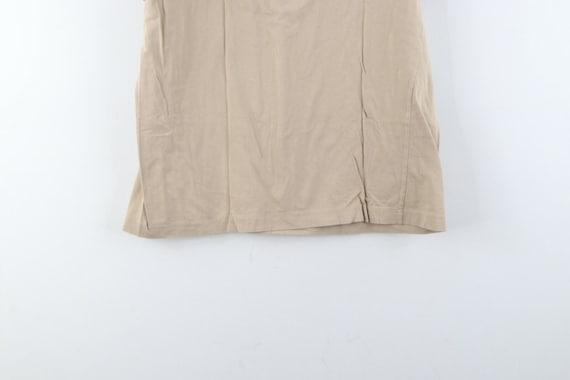 80s Chaps Ralph Lauren Mens Large Striped Short S… - image 7