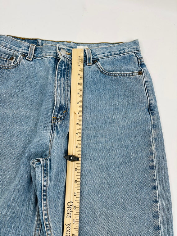 90s Levis 512 Slim Fit Tapered Leg Jeans Womens 1… - image 8