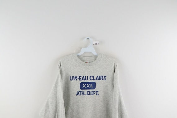 90s Mens XL UW Eau Claire Athletic Department Spe… - image 2