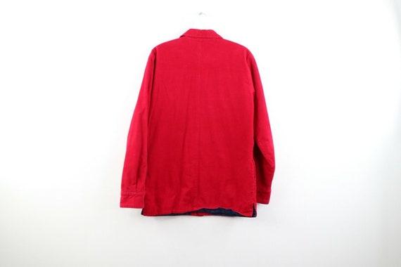 90s Streetwear Mens Small Double Pocket Micro Cor… - image 5