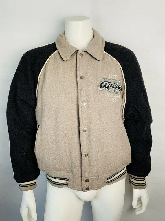 90s Avirex Streetwear Varsity Jacket Mens XL