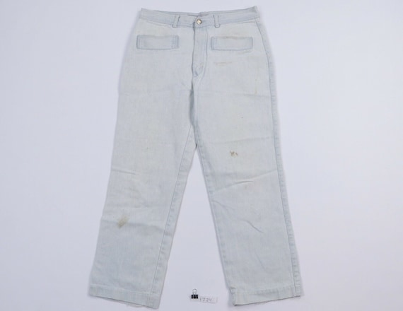 90s Streetwear Mens 34x28 Straight Leg Distressed