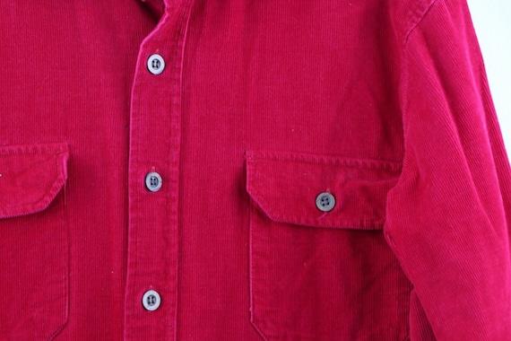 90s Streetwear Mens Small Double Pocket Micro Cor… - image 3