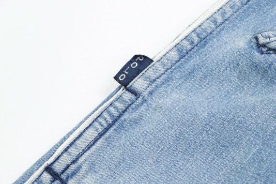 80s Ralph Lauren Mens Medium Elastic Waist Tapere… - image 5