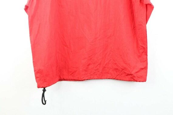 90s Marlboro Mens Medium Blank Packable Hooded An… - image 7