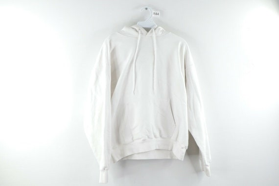 90s Hanes Streetwear Mens Medium Blank Heavyweight