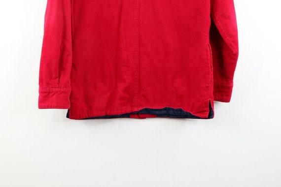 90s Streetwear Mens Small Double Pocket Micro Cor… - image 7