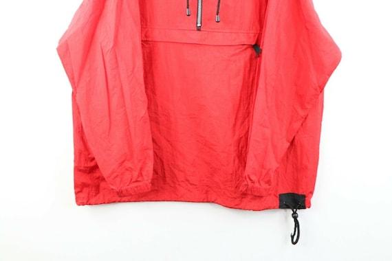 90s Marlboro Mens Medium Blank Packable Hooded An… - image 3