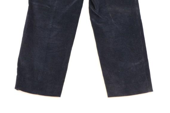 70s Rockabilly Mens 34x29 Straight Leg Faded Cord… - image 7
