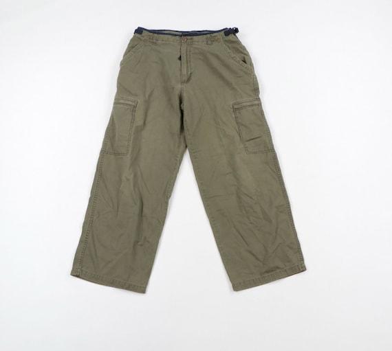 90s Vans Streetwear Mens 34x30 Faded Wide Leg Carg