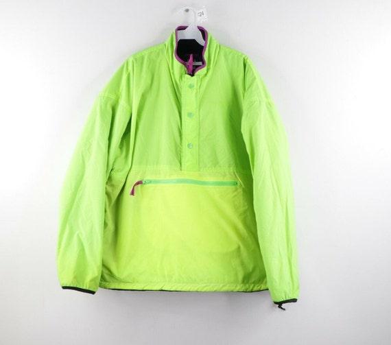 90s Gap Arctic Light Fleece Reversible Anorak Jack