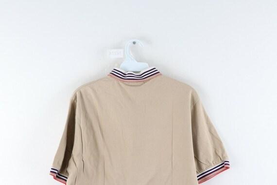 80s Chaps Ralph Lauren Mens Large Striped Short S… - image 6