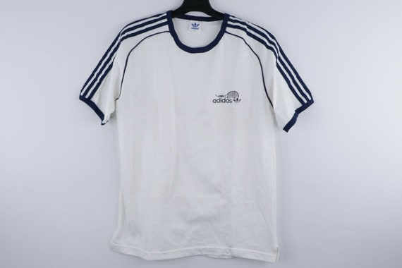 NOS 70s Adidas Spell Out Racquetball Charles Brumf