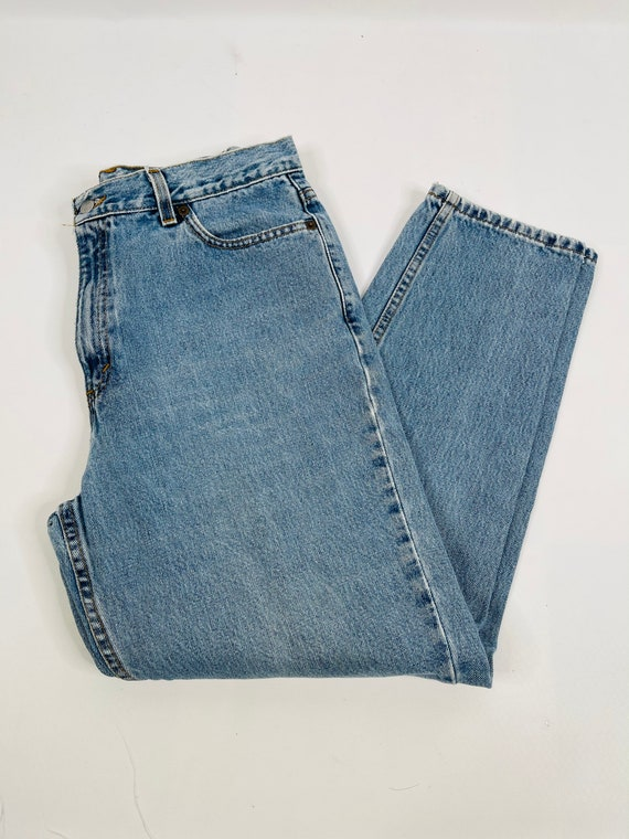 90s Levis 512 Slim Fit Tapered Leg Jeans Womens 1… - image 10