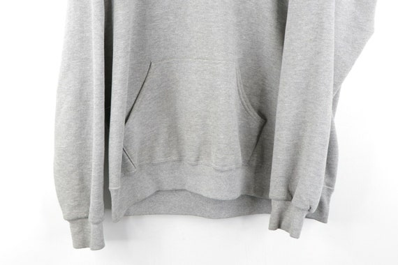 90s Russell Athletic Mens XL Distressed Blank Hoo… - image 3