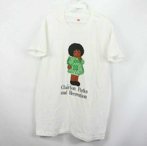 70s Hanes Mens Large 1974 Clairton Parks and Recre