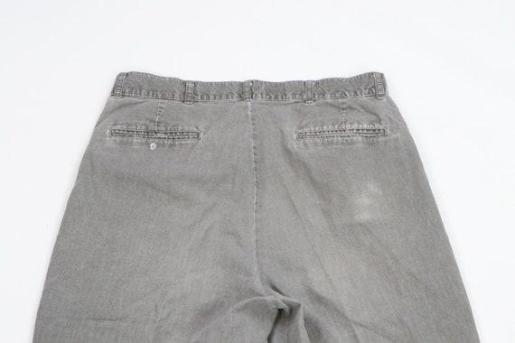 80s LL Bean Mens 31x29 Straight Leg Faded Distres… - image 7