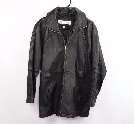 90s Marc Jacobs Mens Size Small Distressed Leather