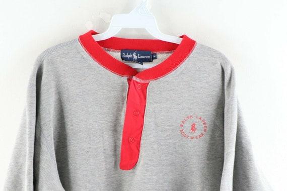 80s Ralph Lauren Body Wear Mens Medium Spell Out … - image 2