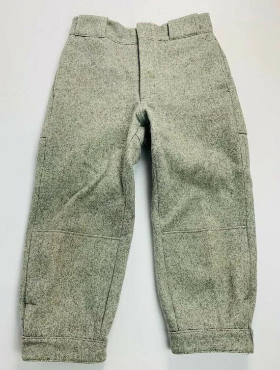Vintage 1960s Woolrich Mens 30 Gray Wool Hunting K
