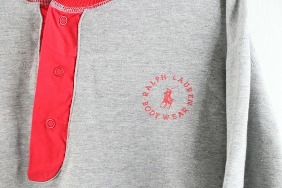 80s Ralph Lauren Body Wear Mens Medium Spell Out … - image 4