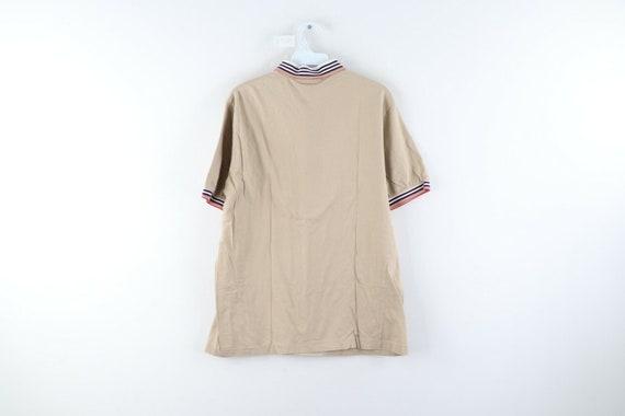 80s Chaps Ralph Lauren Mens Large Striped Short S… - image 5