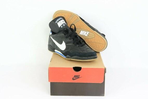 NOS 90s Nike Tiempo Pro TR Indoor Soccer Shoes Bla