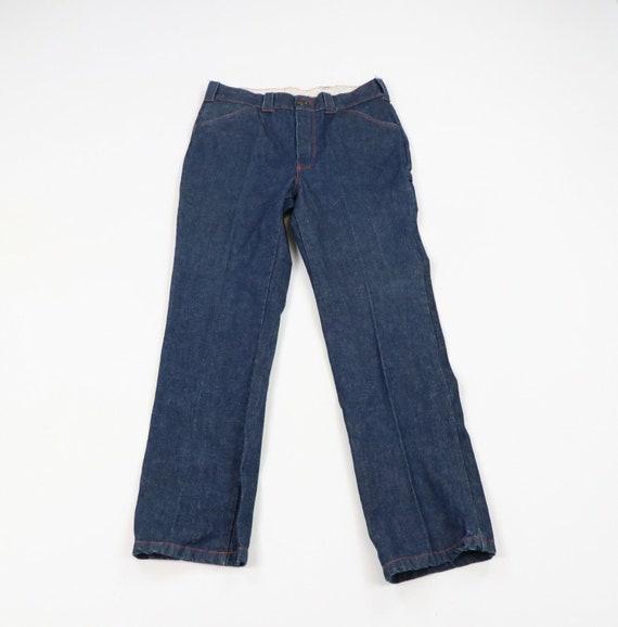 70s Rockabilly Mens Size 34x32 Distressed Wide Leg